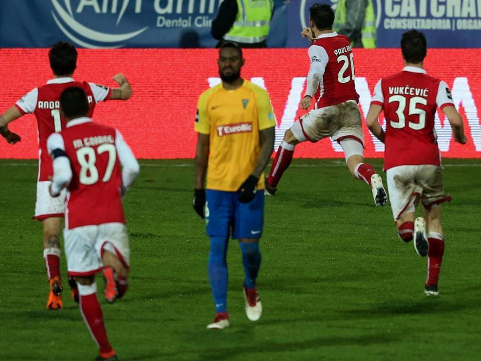 Estoril-Sp. Braga, 0-6 (destaques)