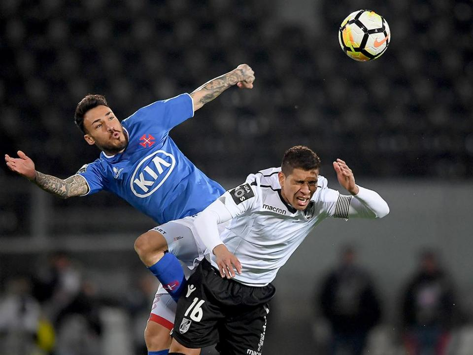 V. Guimarães-Belenenses, 0-0 (resultado final)