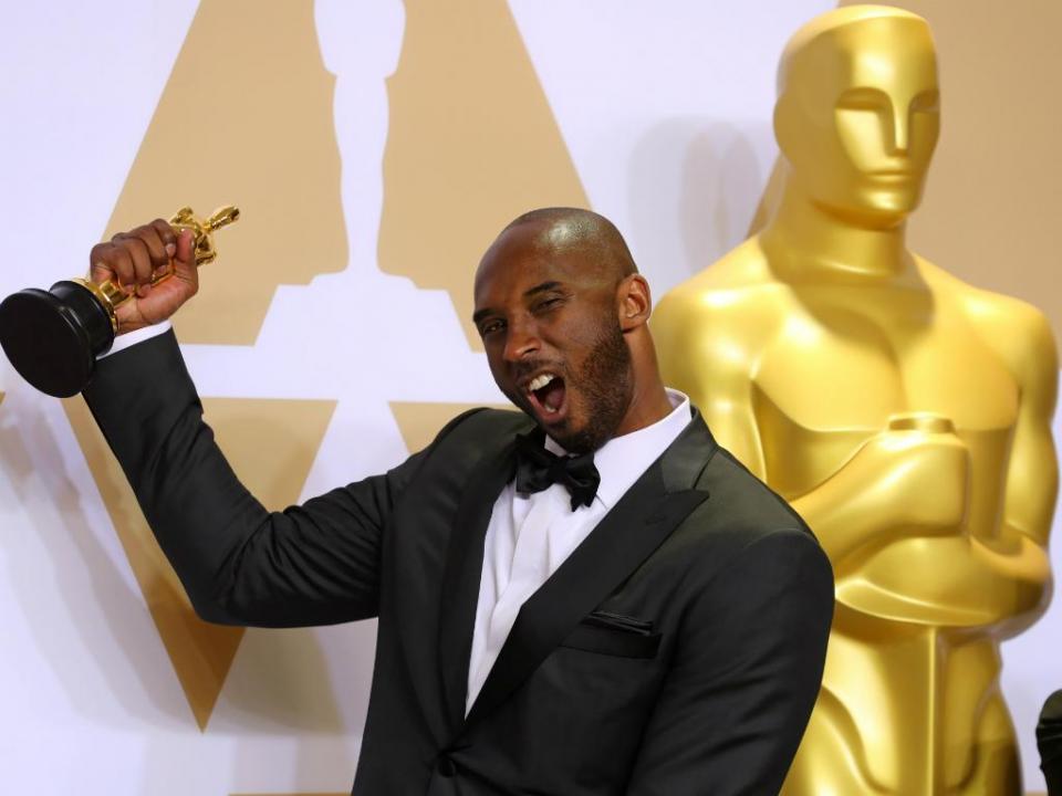 Kobe Bryant venceu um Oscar
