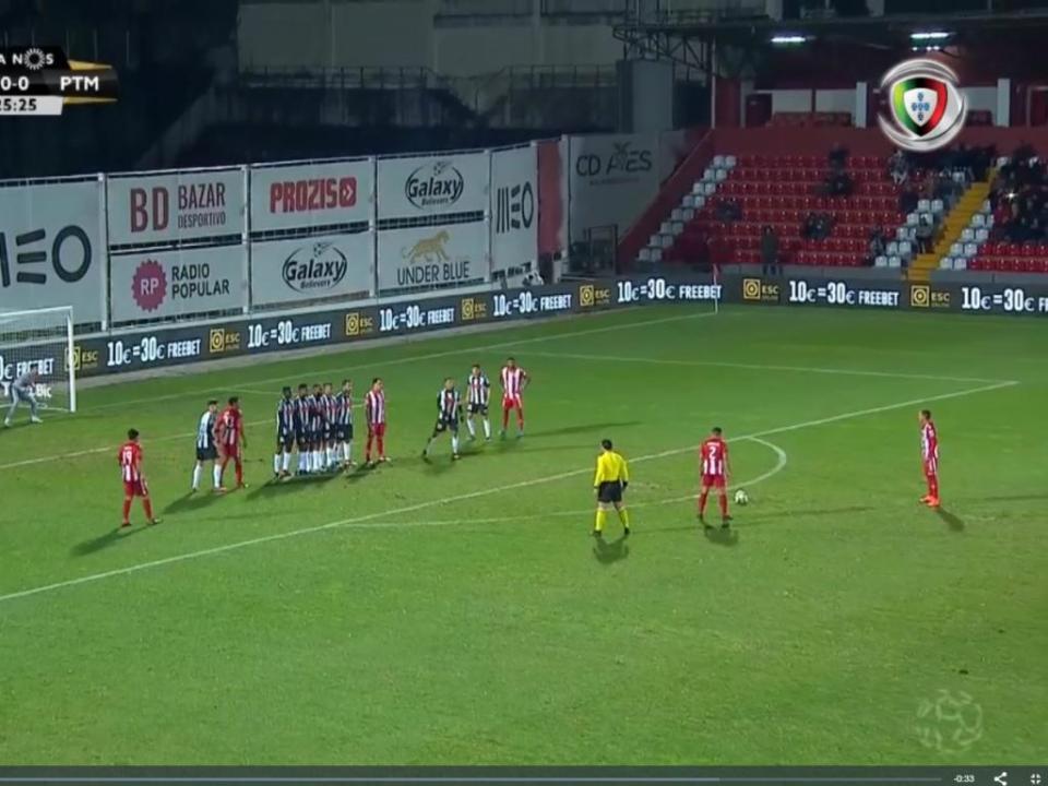 VÍDEO: golaço de Rodrigo Soares no Aves-Portimonense