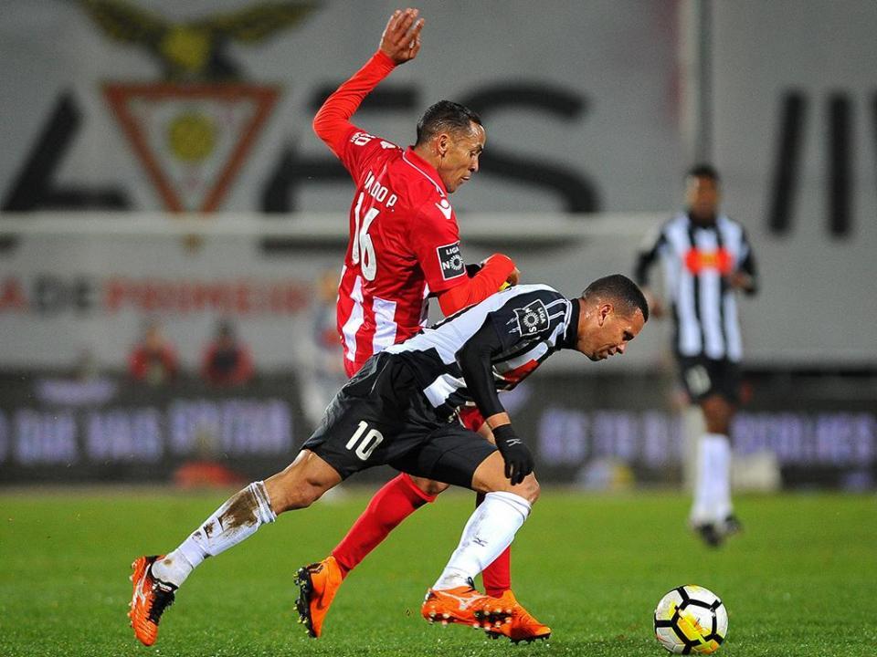 Liga: golo de Nildo ao Portimonense eleito o melhor de março