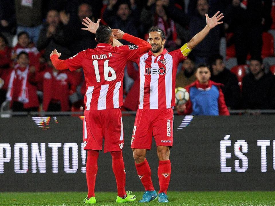 Desp. Aves: Braga e Vítor Gomes em dúvida para a receção ao V. Setúbal