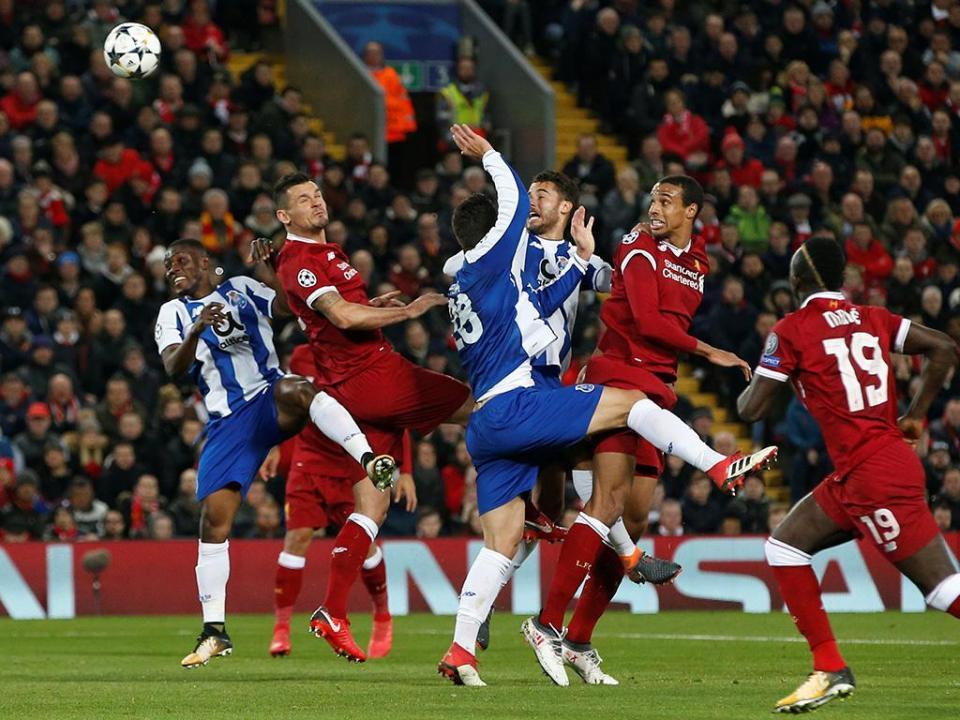 LC: Liverpool-FC Porto, 0-0 (resultado final)