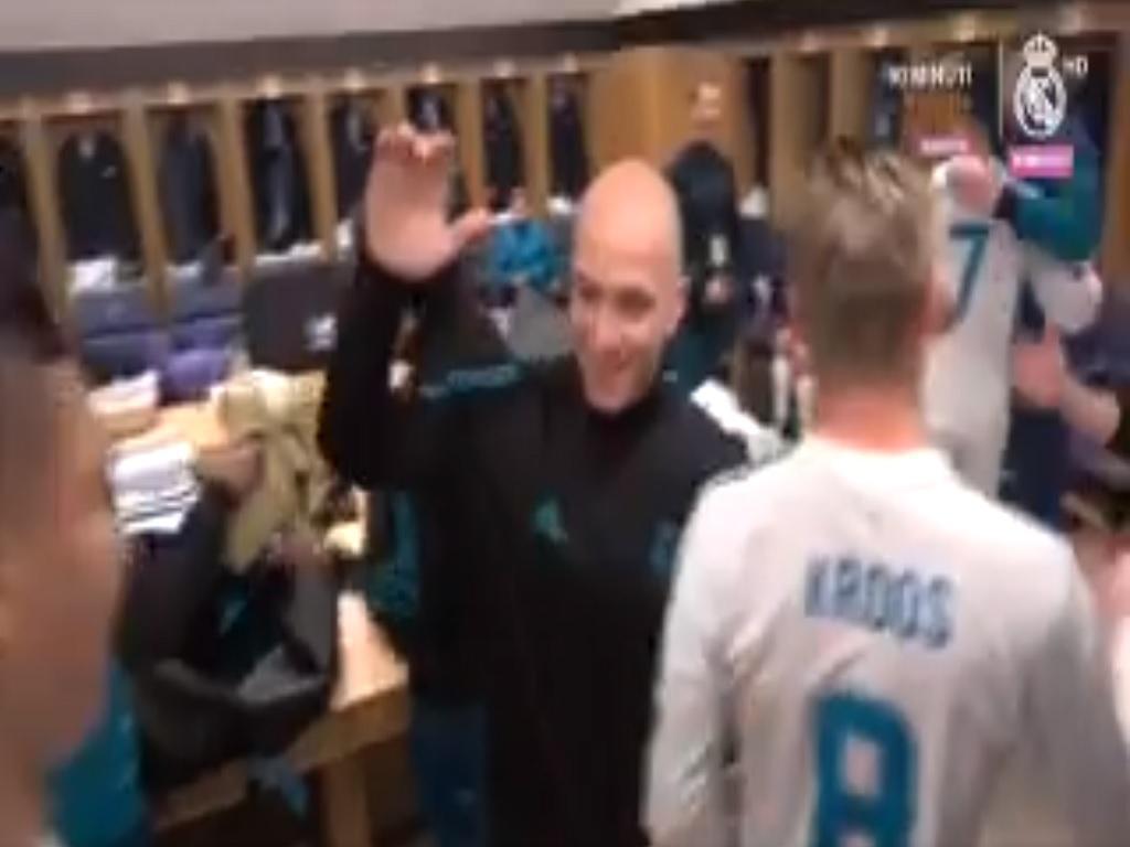 VÍDEO: foi assim que o Real Madrid festejou a vitória em Paris