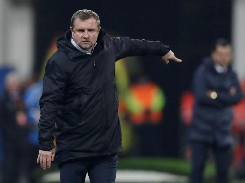 «Gostávamos de fazer um milagre», diz treinador do Plzen
