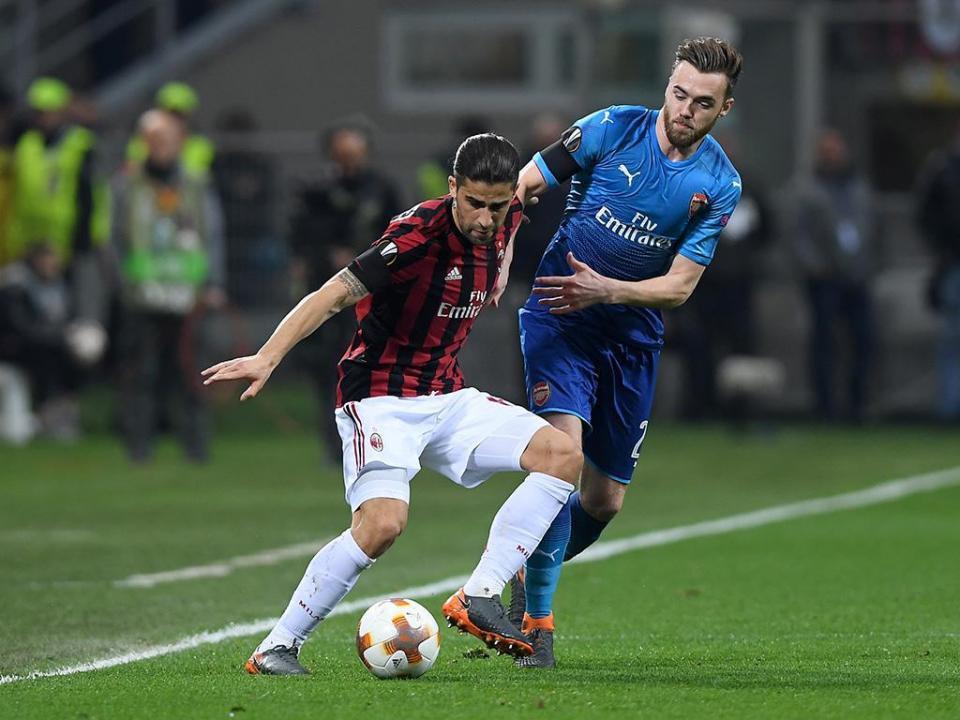 LE: Arsenal abate Milan no duelo de San Siro