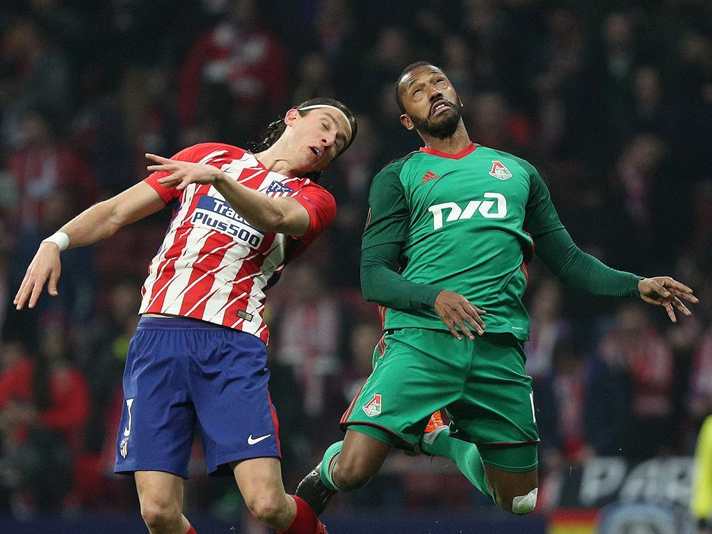 LE: Atlético Madrid estraga a noite a Manuel Fernandes e Éder