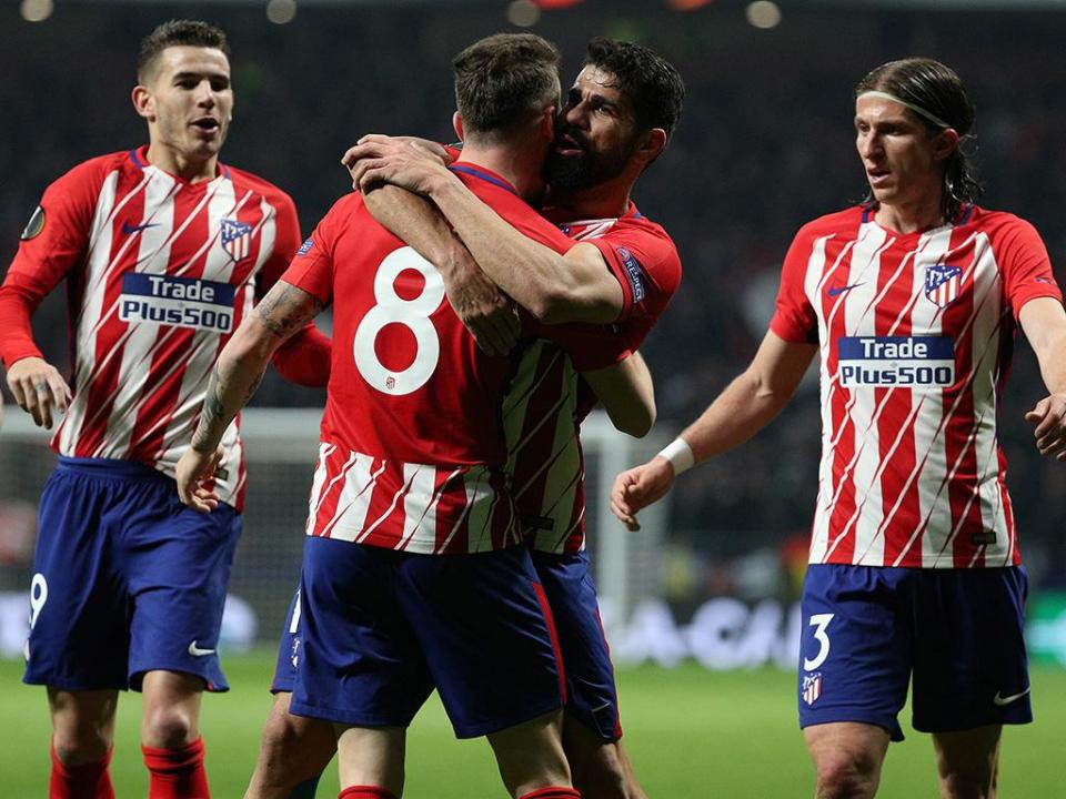 Atlético Madrid regressa aos triunfos e consolida segundo lugar