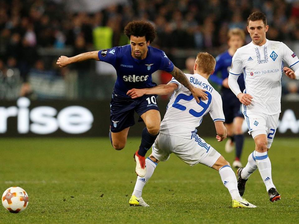 LE: Dínamo Kiev arranca empate em Roma com dois golaços