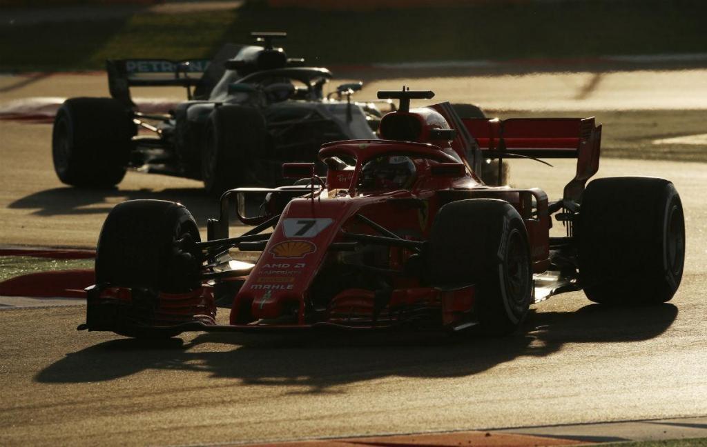 Testes F1: último dia para Raikkonen, Mercedes acima das mil voltas
