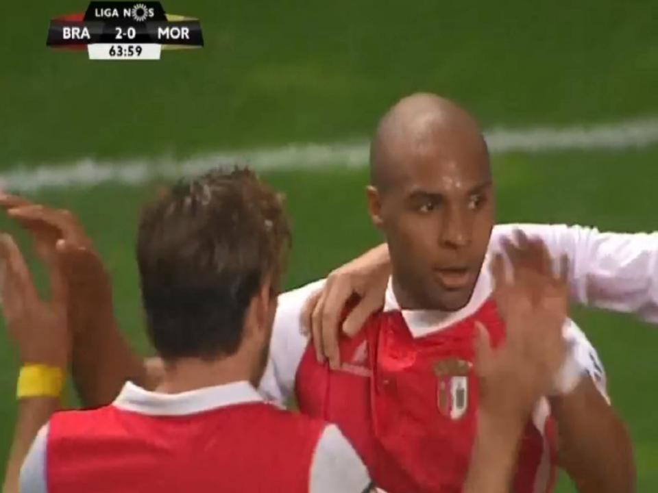 VÍDEO: Wilson Eduardo bisa no Sp. Braga-Moreirense