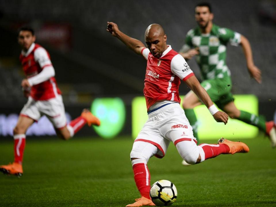 Sp. Braga-Moreirense, 3-0 (destaques)