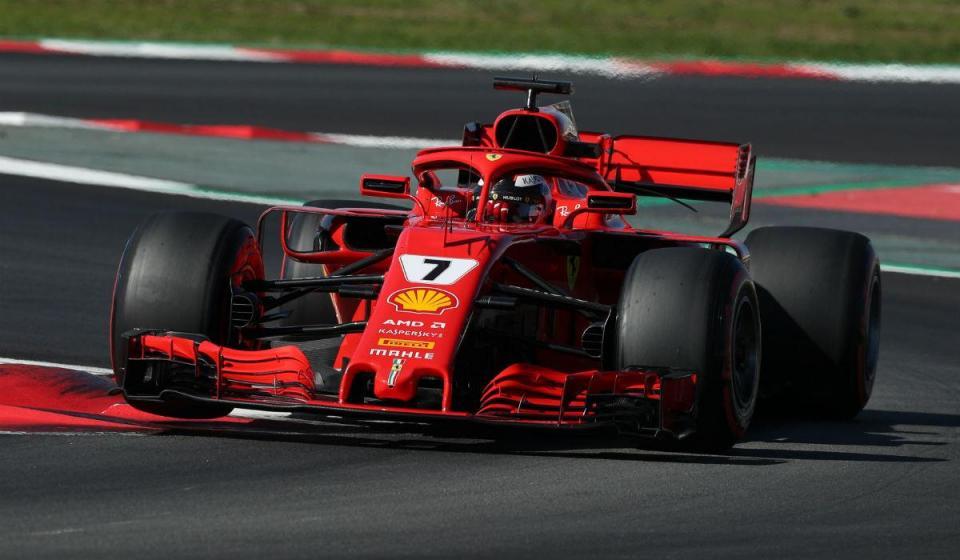 "Raikkonen elogia desempenho do novo Ferrari ""muito fiável"""