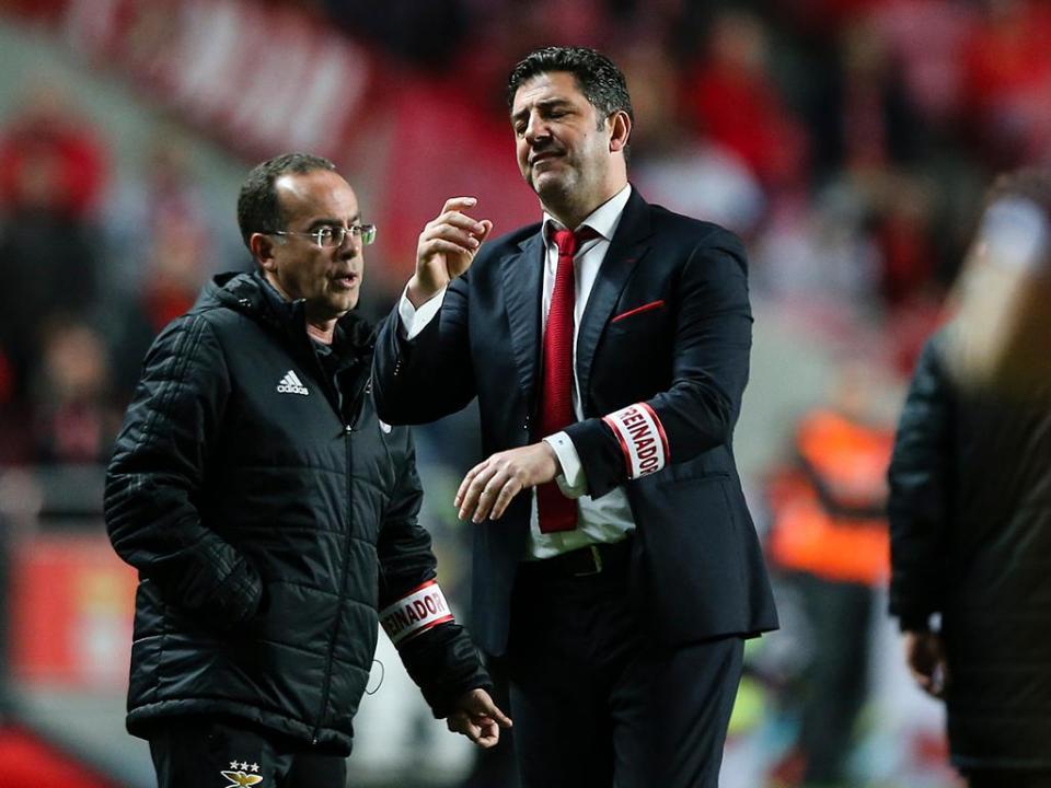 Rui Vitória: «Depois do primeiro golo acabou por ruir a muralha»