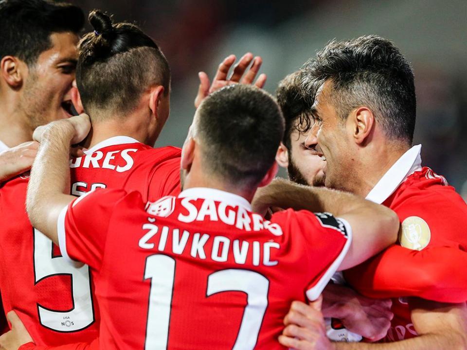 VÍDEO: veja o resumo do triunfo do Benfica frente ao Desp. Aves