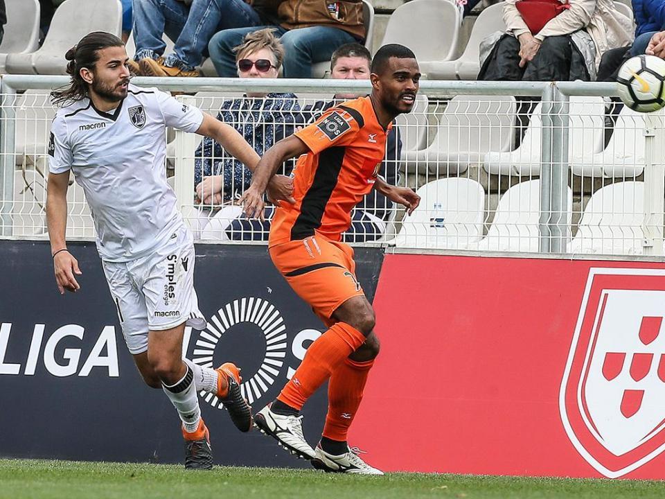 Portimonense-V. Guimarães, 2-1 (resultado final)