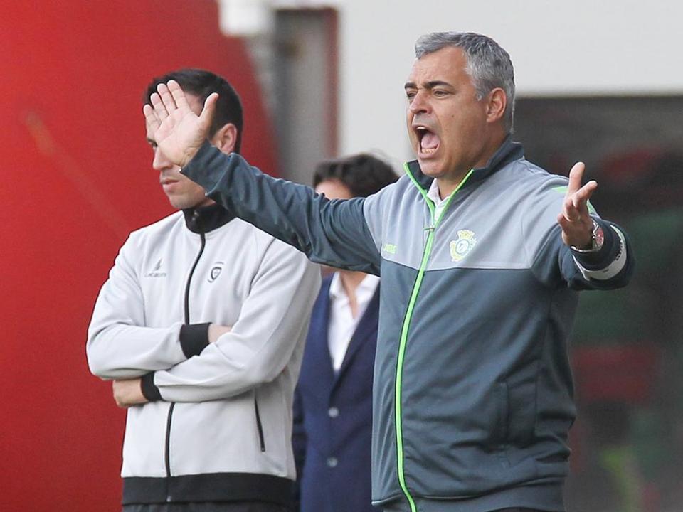 José Couceiro: «Demos três golos de vantagem»