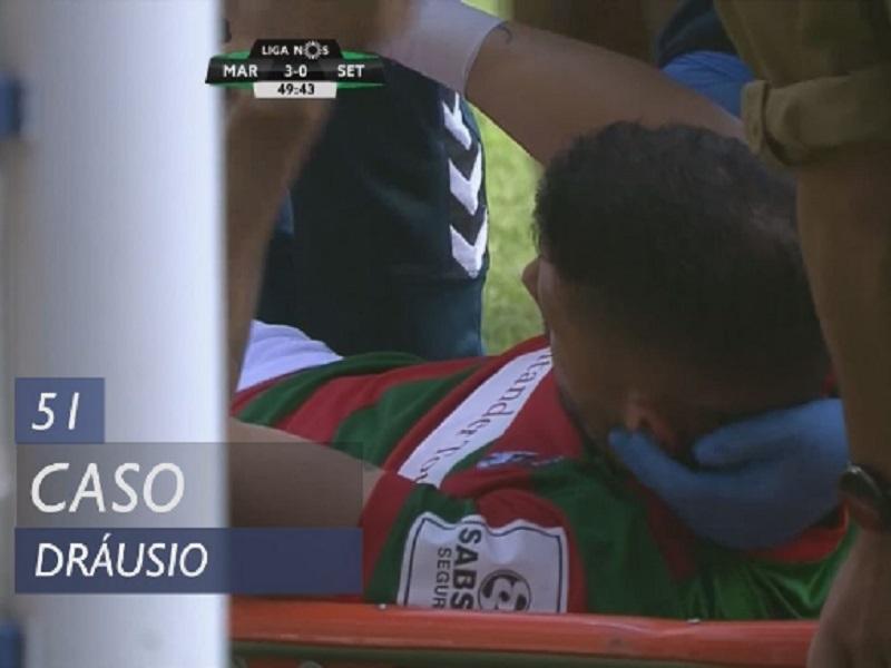 VÍDEO: o momento da lesão assustadora de Dráusio