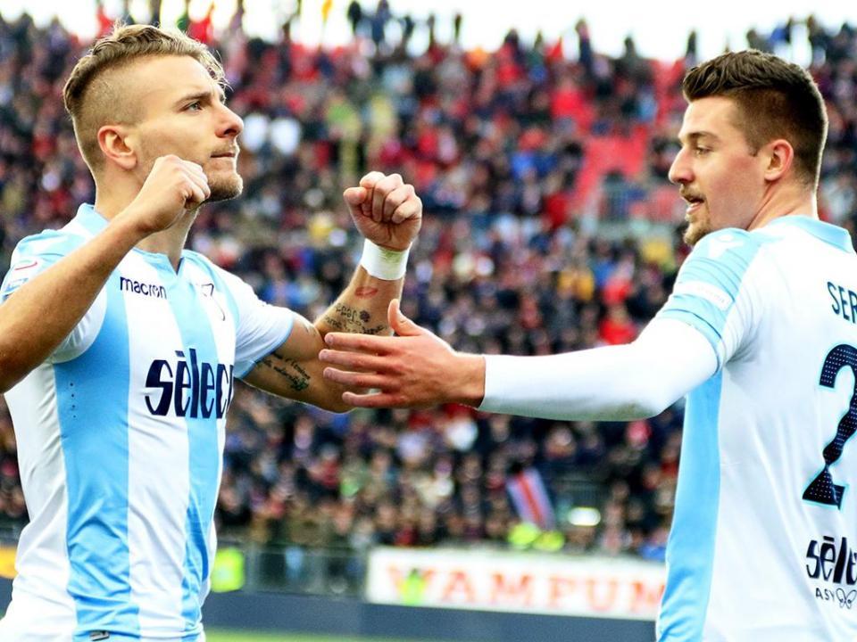 OFICIAL: Lazio renova com Milinkovic-Savic e Immobile