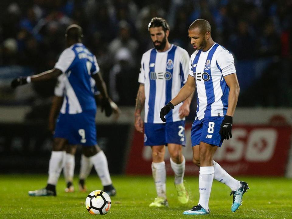 FC Porto perdeu o jogo em que foi menos intenso que o rival