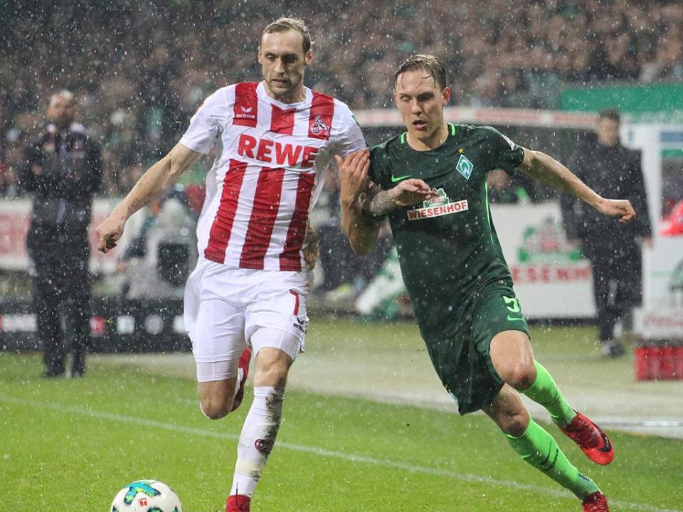 Alemanha: Werder Bremen vence o «lanterna vermelha» Colónia