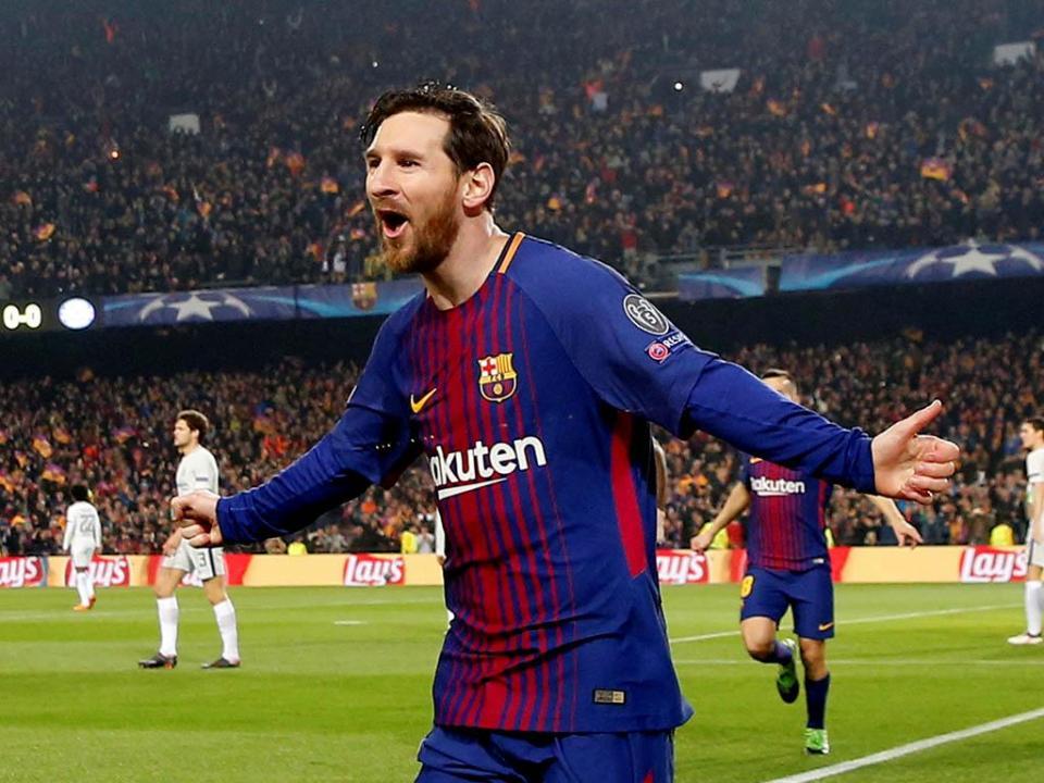 Barcelona treme cada vez que Messi e companhia marcam golos