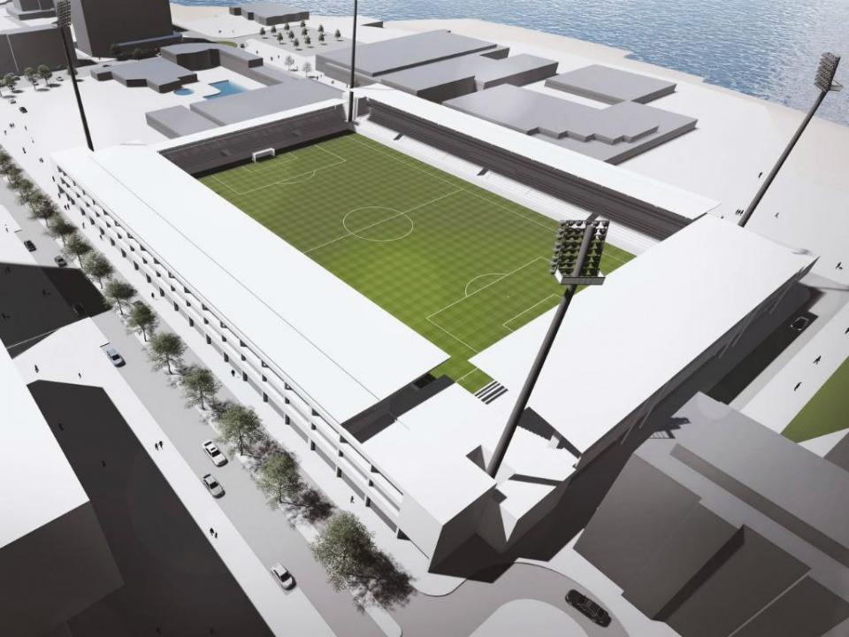 FOTOS: Varzim apresenta projeto para estádio e centro de treinos