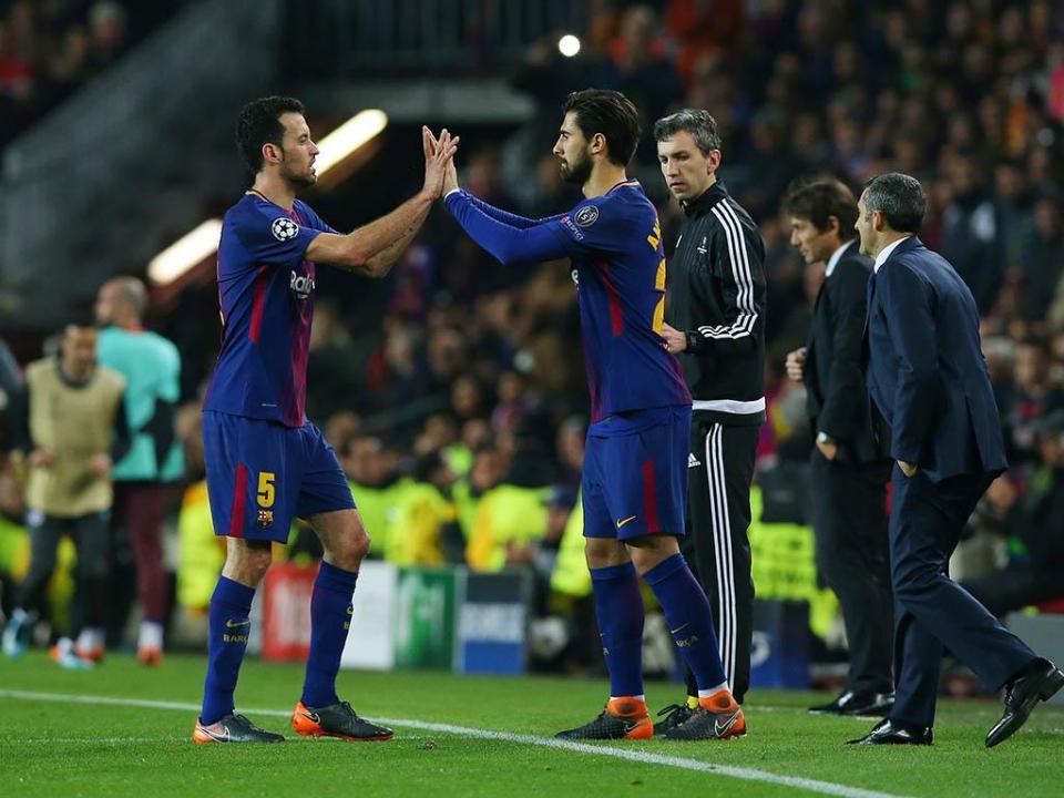 Barcelona: André Gomes e Nelson Semedo convocados para Roma