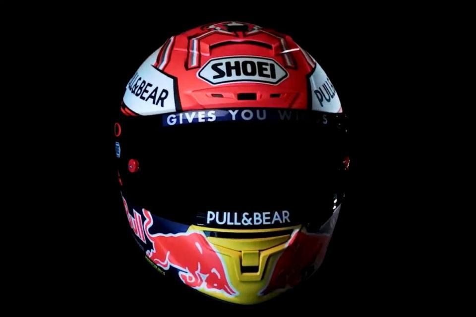 MotoGP: Márquez apresenta o novo capacete para 2018