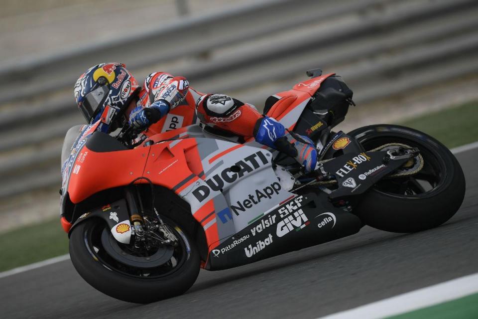 MotoGP: Andrea Dovizioso sai na frente em Jerez