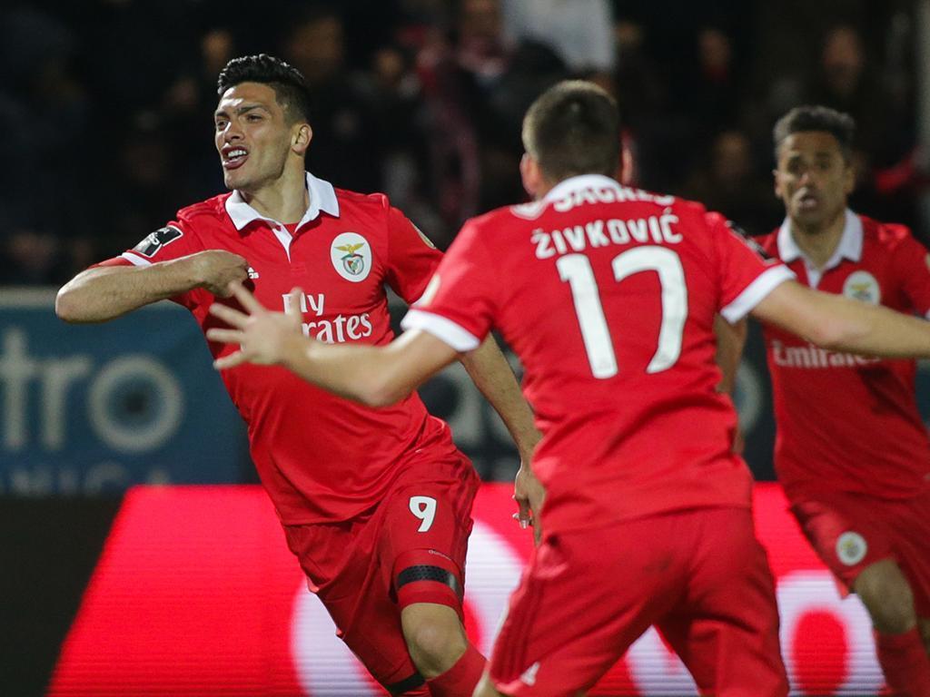 Benfica: Jimenez chegou e treinou