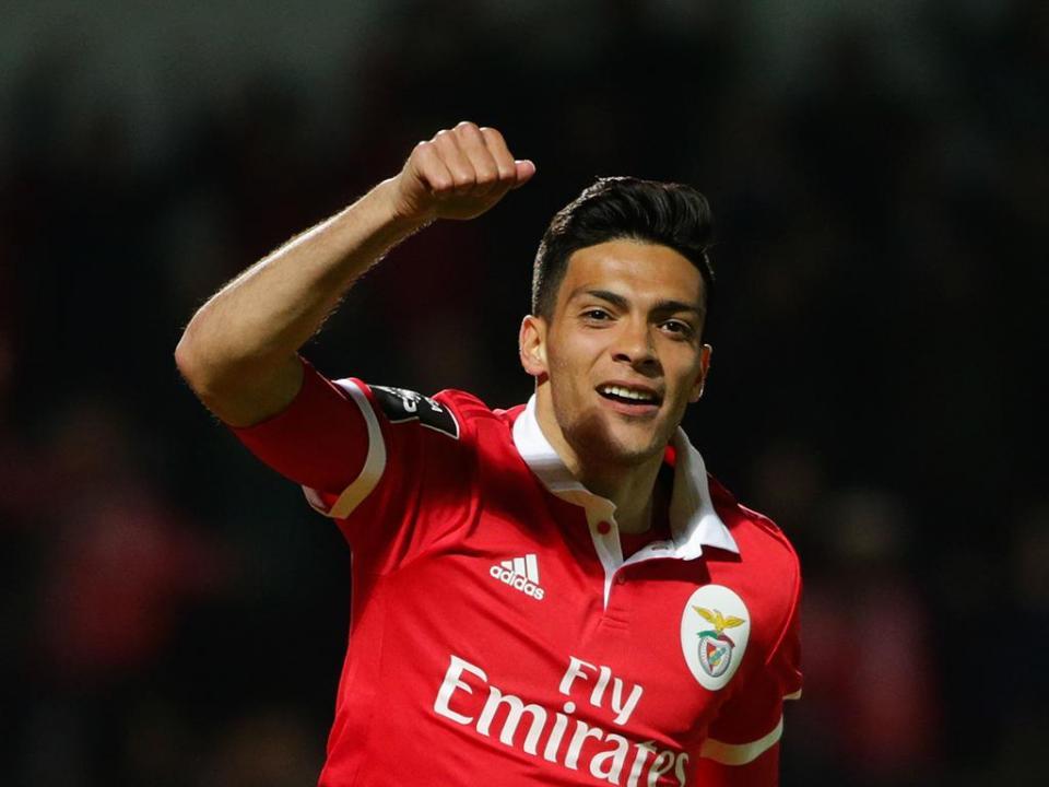 V. Setúbal-Benfica: Jiménez rende Jonas no onze dos encarnados