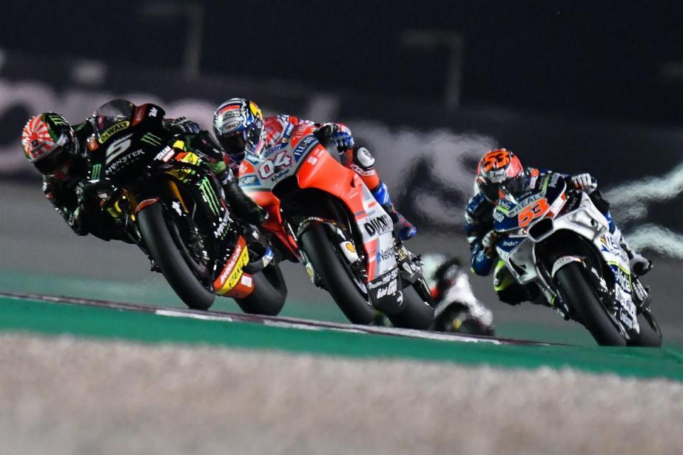 MotoGP com menos dias de testes a partir de 2019