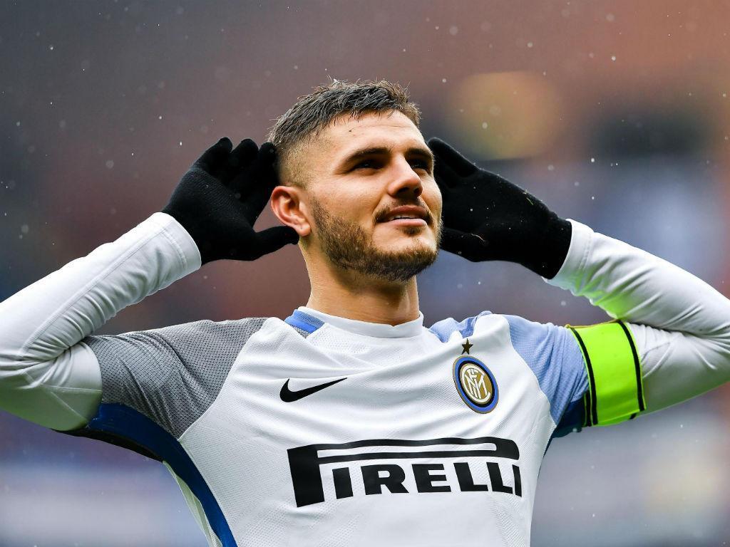 Inter goleia com assistência de Cancelo e «póquer» de Icardi