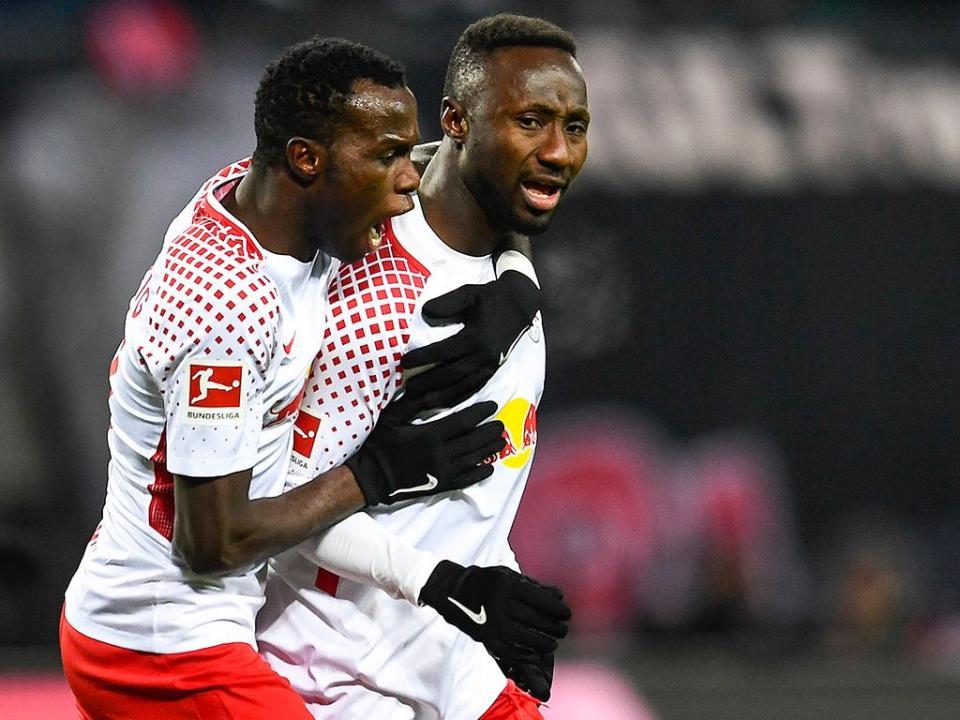 Bruma titular no primeiro ponto conquistado pelo Leipzig
