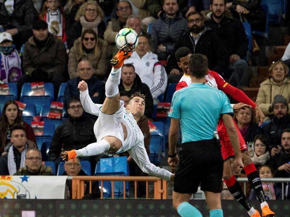 Ronaldo com noite de sonho na goleada do Real Madrid ao Girona
