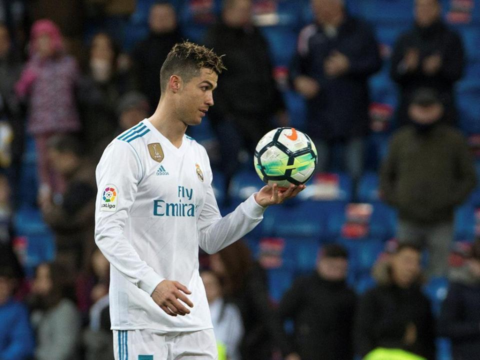 Cristiano Ronaldo falha deslocação do Real a Las Palmas