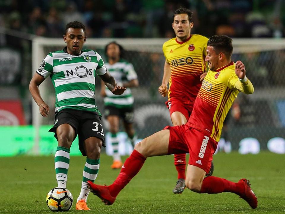 Wendel: «Dizer que estou satisfeito no Sporting não seria verdadeiro»