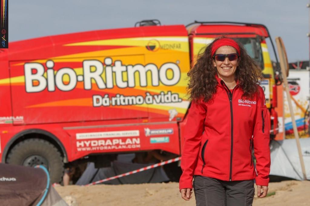 Elisabete Jacinto volta à areias de Marrocos