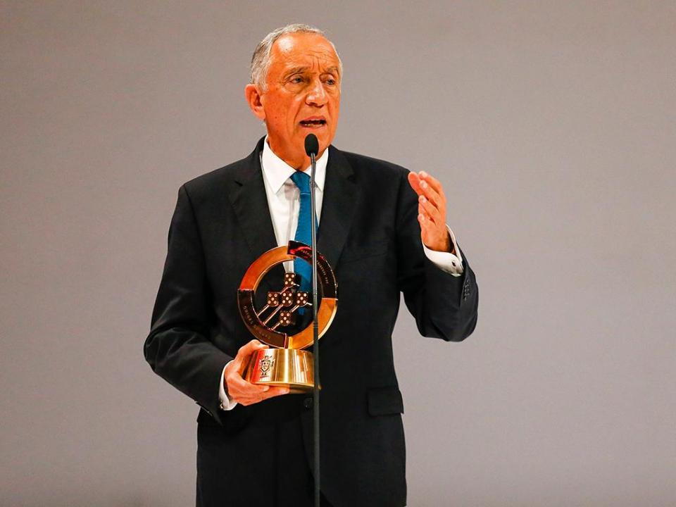 Presidente da República em Sochi para o Uruguai-Portugal