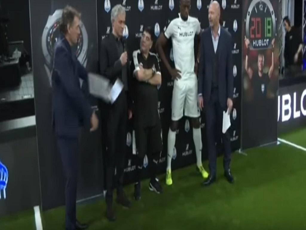 Mou aprova Bolt: «Se calhar o futebol perdeu um talento...» (vídeo)
