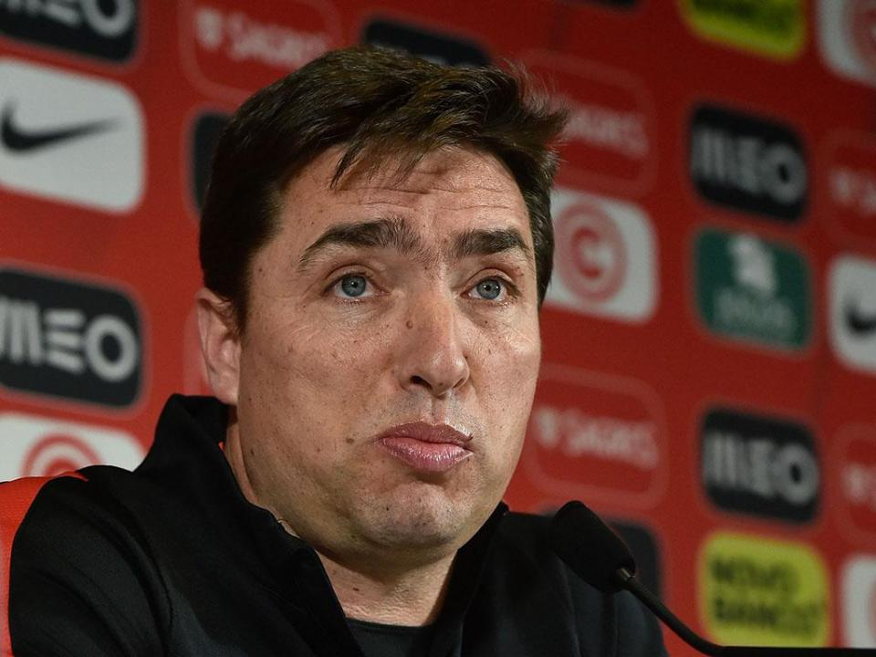 Rui Jorge: «A nossa mentalidade é sempre jogar para vencer»