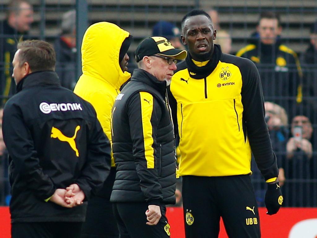 Bolt em Dortmund: «Vim aqui aprender com os meninos»