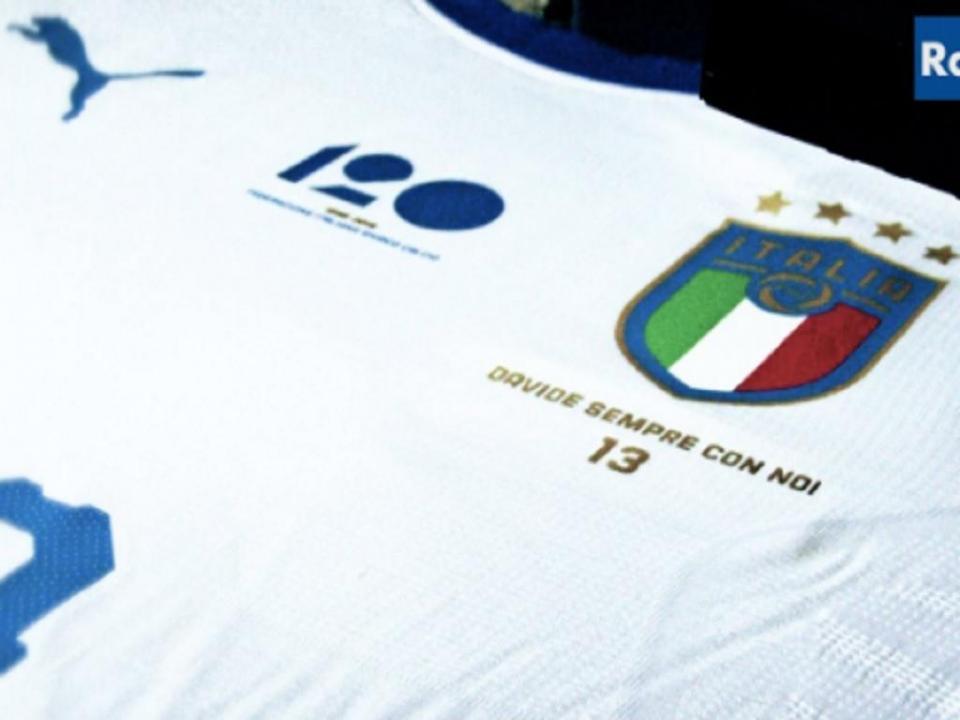 Seleção italiana vai homenagear Astori no jogo com a Argentina