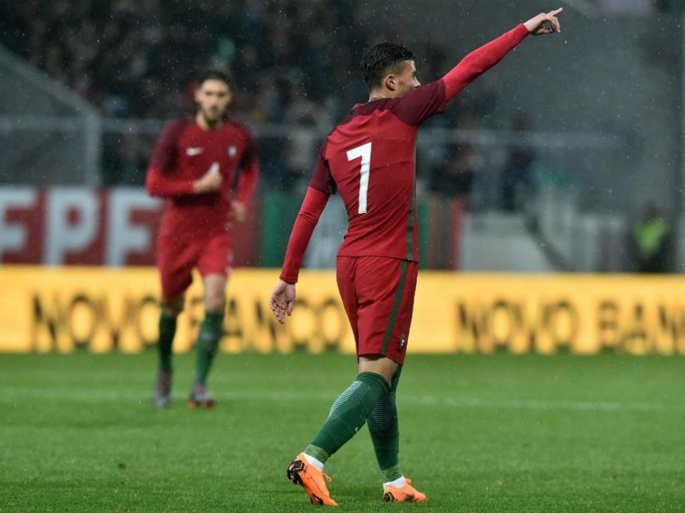 Sub-21: Portugal-Liechtenstein, 7-0 (destaques)
