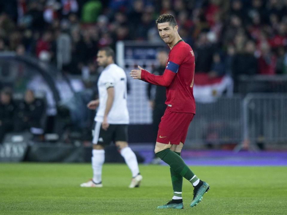 88c38435c6 Ronaldo chega aos 81 golos e aproxima-se de Puskás