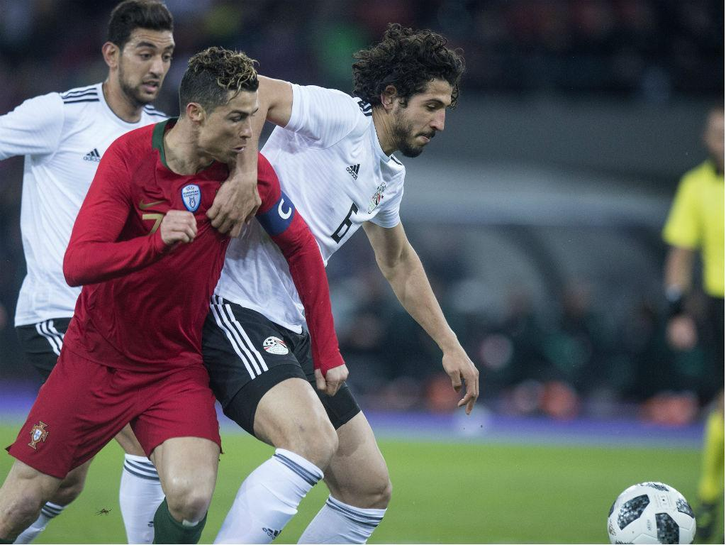 Portugal-Egito, 2-1 (resultado final)