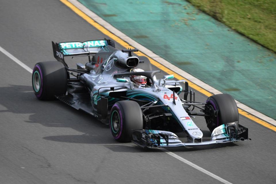 GP do Bahrain: Hamilton tem penalização de cinco lugares na grelha