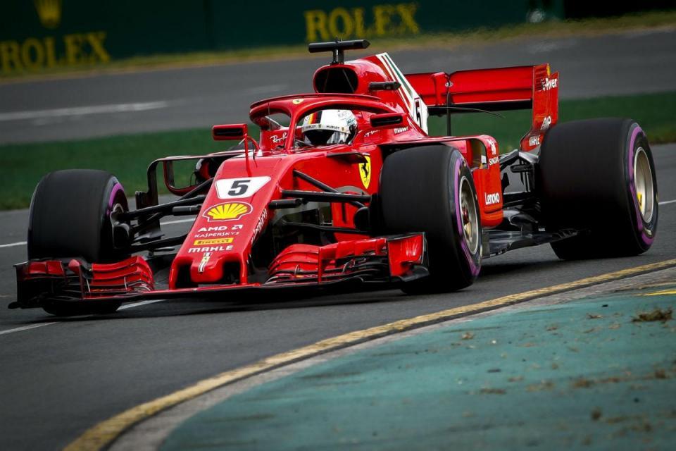 F1: Sebastian Vettel coloca concorrência em sentido