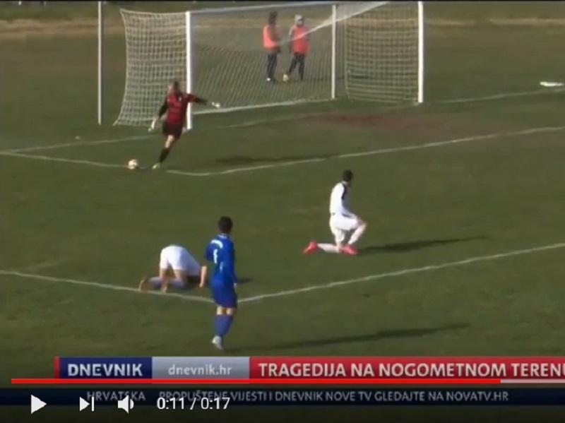 DRAMÁTICO: jogador croata morre em campo